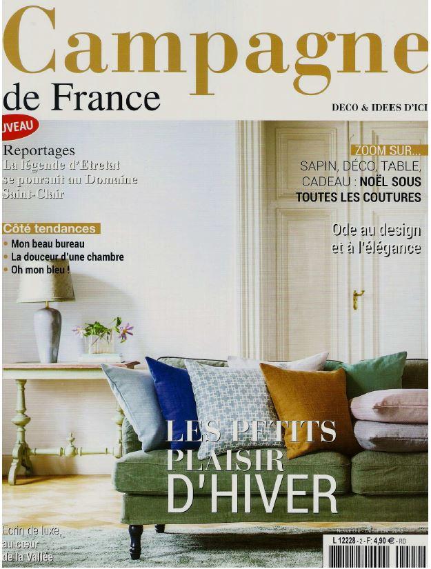 Campagne magazine November and December 2016