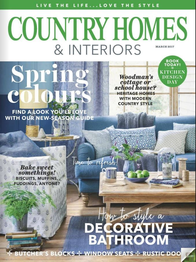 Country Homes And Interiors März 2017