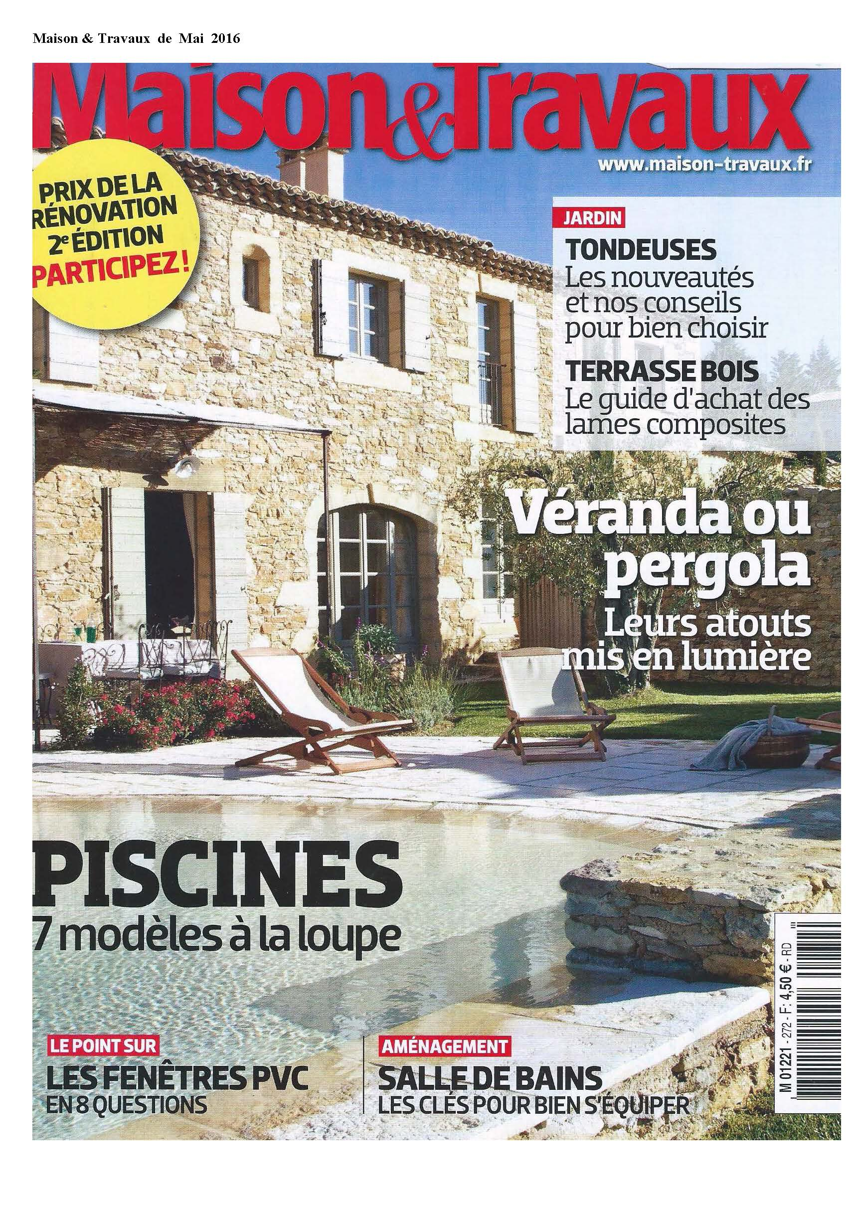 Maison & Travaux Mai 2016