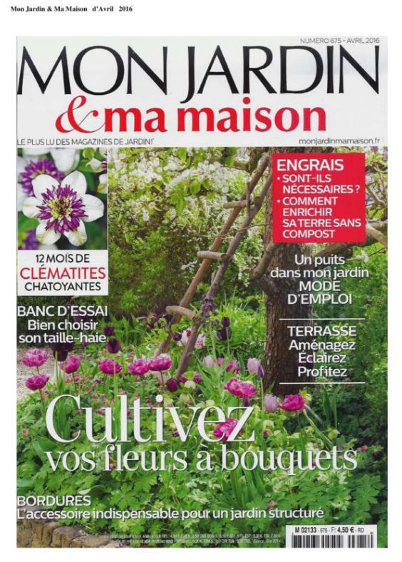 Mon Jardin & Ma Maison april 2016