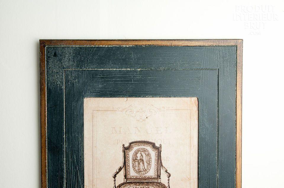 Verleihen Sie Ihren Wänden eine ganz besondere Note mit diesen 4 schönen Rahmen Oncle Pierre