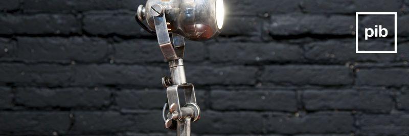 Alte Sammlung von tischlampe industrial