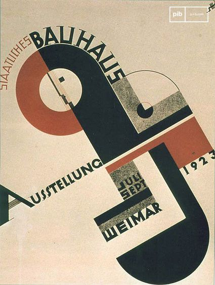 Bauhaus-Plakat 1923