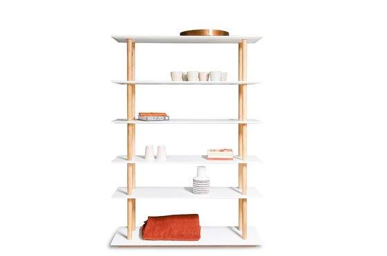 Bücherregal Tennö ohne jede Grenze