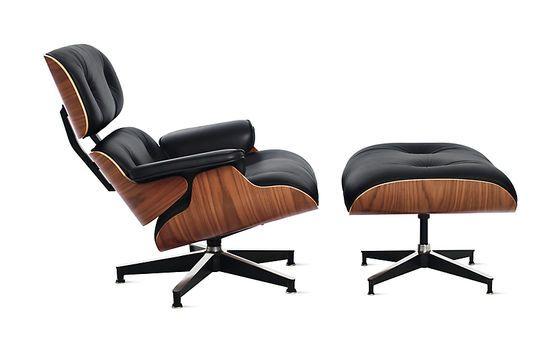 Der Eames Lounge Chair und Ottoman