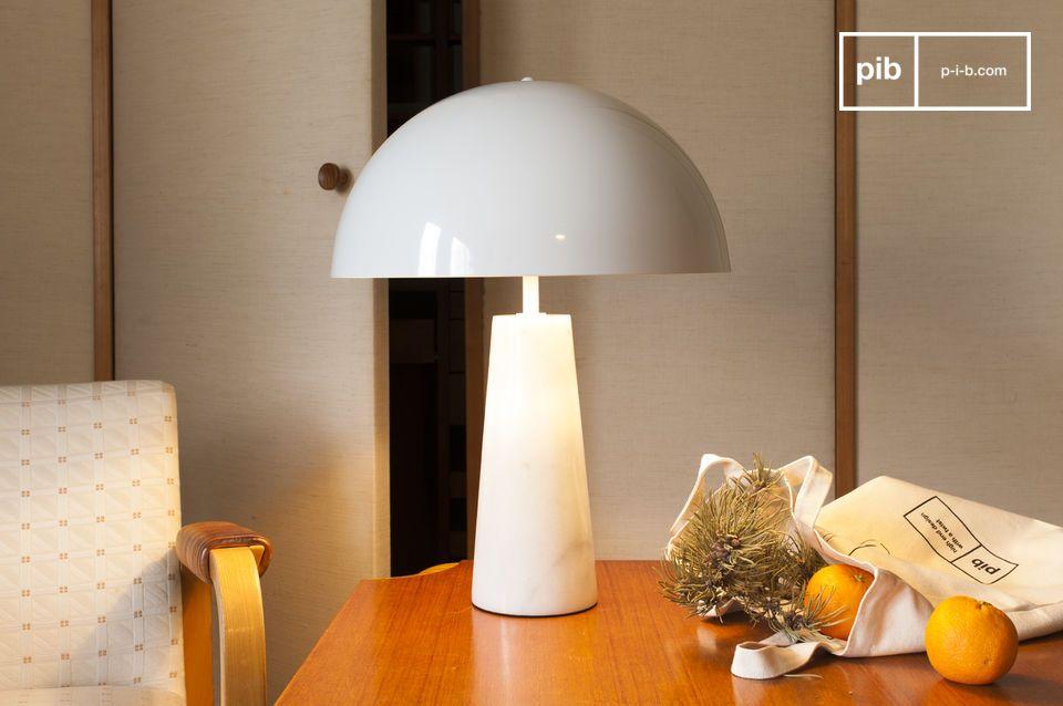 Lampe aus Marmor Boissoudy