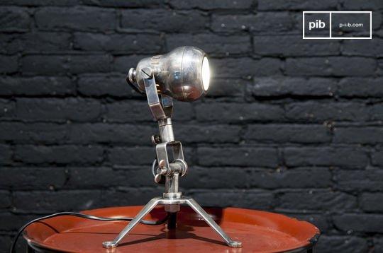 Messinglampe Spoutnik