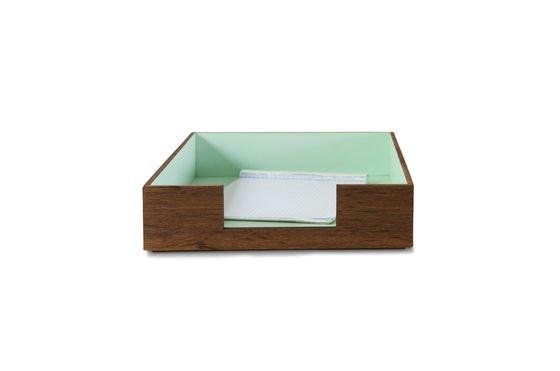 Papier-Sammler Akuagronn ohne jede Grenze