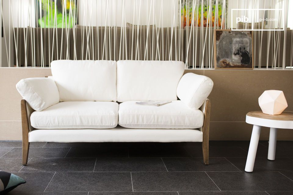 Sofa Ariston Weiß