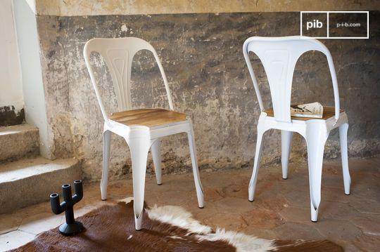 Stuhl Multipl's Weiß - Holz
