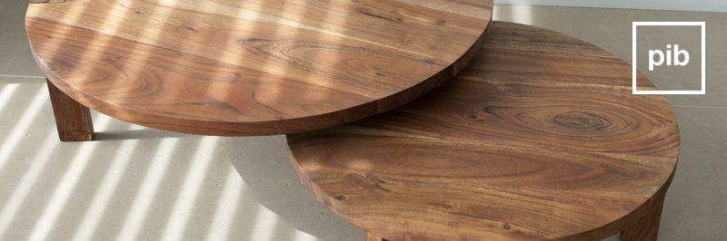 Tische aus Holz
